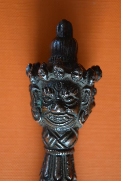 Phurba head