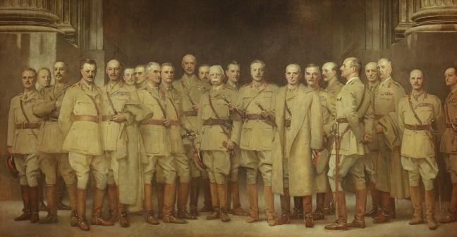 general_officers_of_world_war_i_by_john_singer_sargent